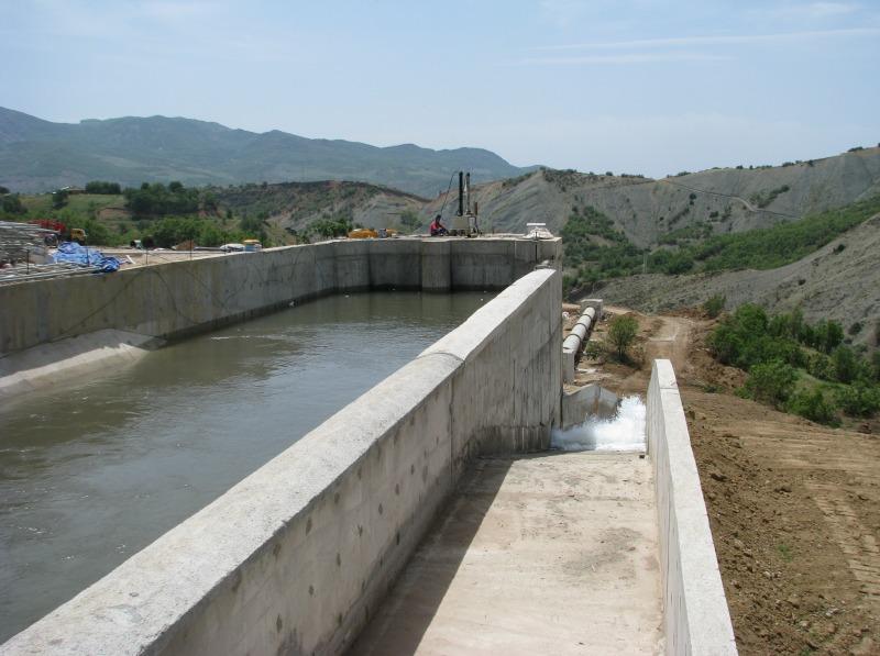 baraj ve gölet  hidromekanik ekipmanları